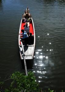 ろ舟「水面かがやく」篠原道雄